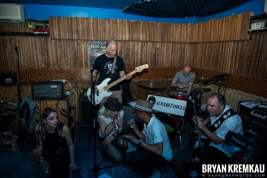 ReadJunk 20th Anniversary Party @ Otto's Shrunken Head, NYC (8)