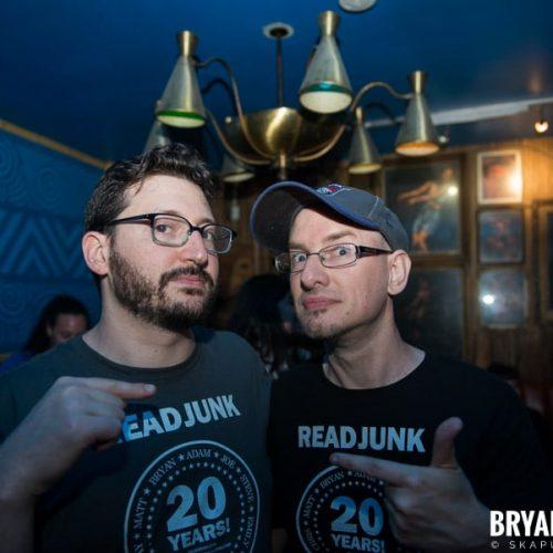 ReadJunk 20th Anniversary Party @ Otto's Shrunken Head, NYC (5)