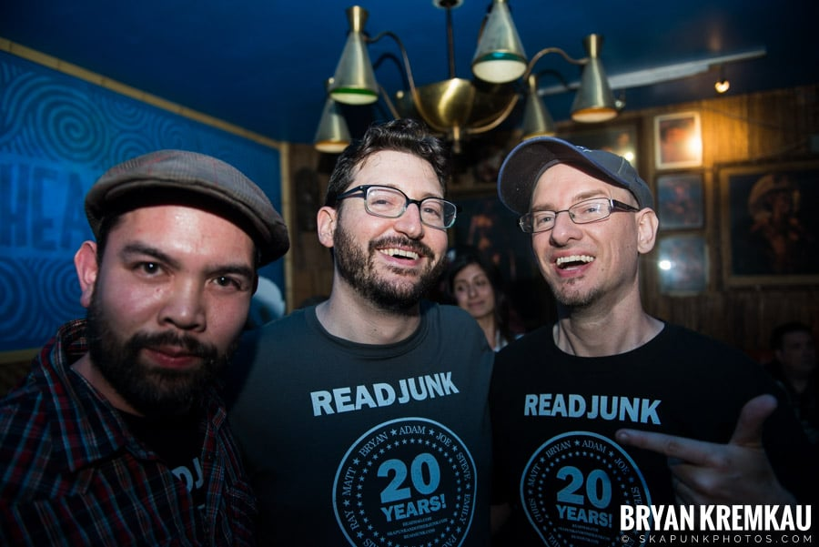 ReadJunk 20th Anniversary Party @ Otto's Shrunken Head, NYC (4)