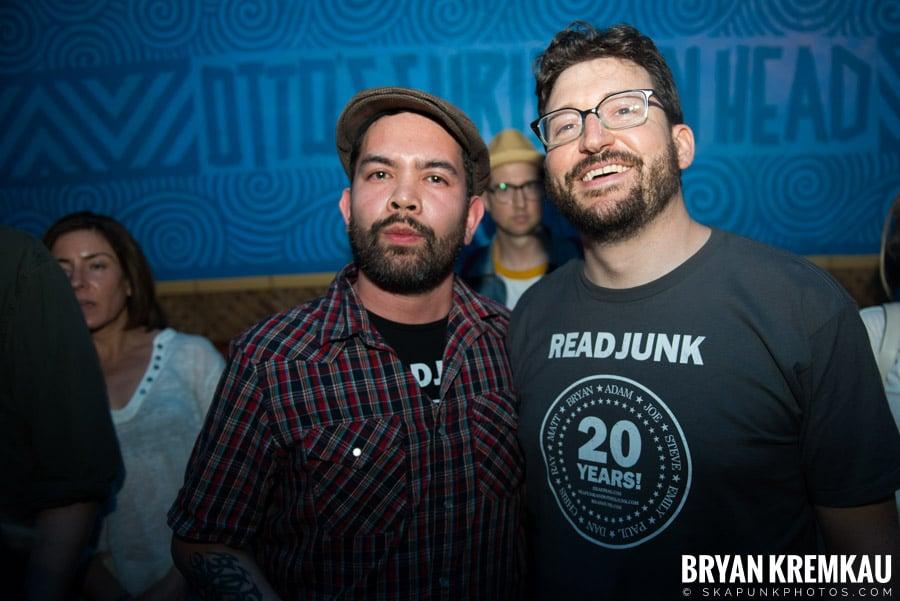 ReadJunk 20th Anniversary Party @ Otto's Shrunken Head, NYC (3)