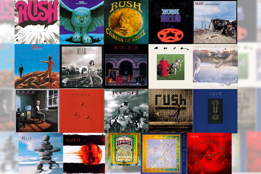 Snap Judgments of Rush Albums I Never Heard Before (All Of Them)