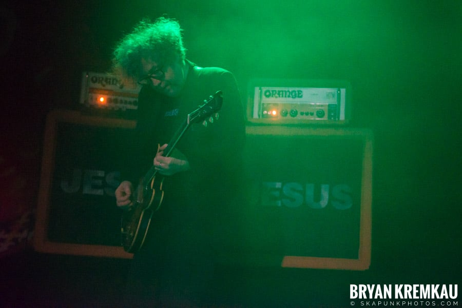 The Jesus and Mary Chain / The Cobbs @ Brooklyn Steel, NY (3)
