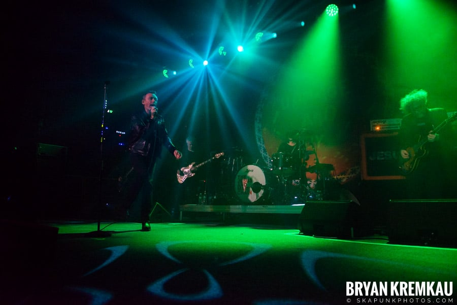 The Jesus and Mary Chain / The Cobbs @ Brooklyn Steel, NY (2)