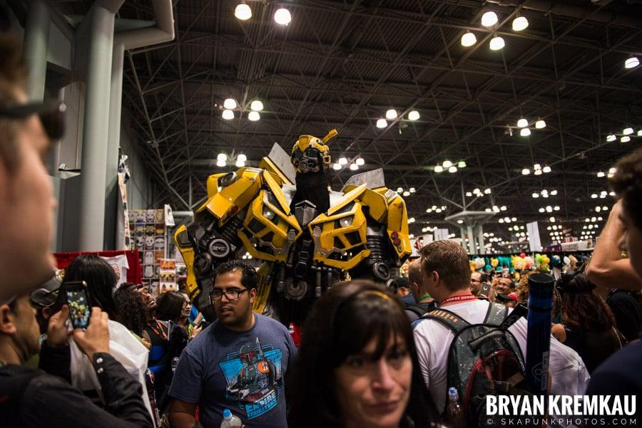 New York Comic Con: Thursday, October 5th, 2017 (33)