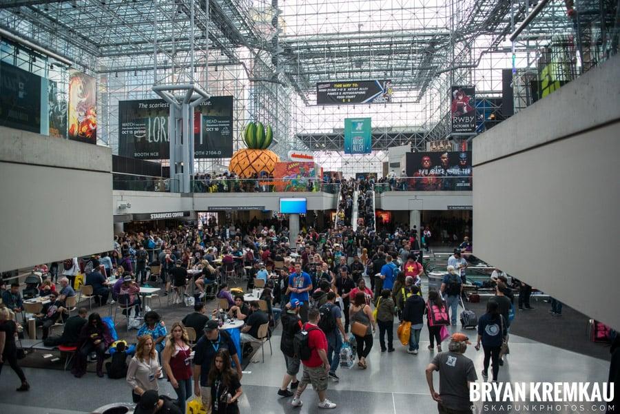 New York Comic Con: Thursday, October 5th, 2017 (22)