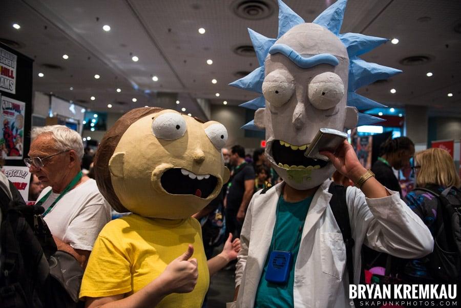 New York Comic Con: Thursday, October 5th, 2017 (20)
