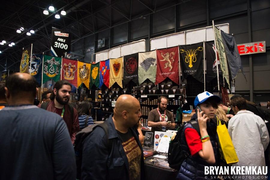 New York Comic Con: Thursday, October 5th, 2017 (11)