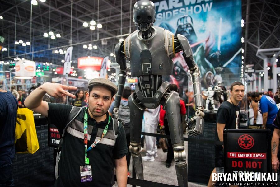 New York Comic Con: Thursday, October 5th, 2017 (6)