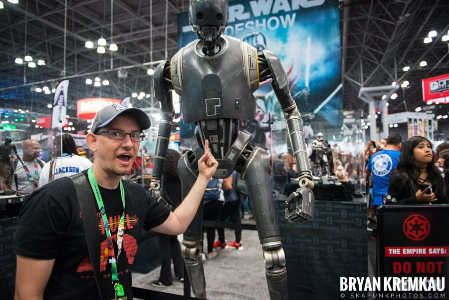 New York Comic Con: Thursday, October 5th, 2017 (5)