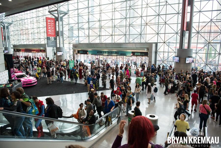 New York Comic Con: Thursday, October 5th, 2017 (4)
