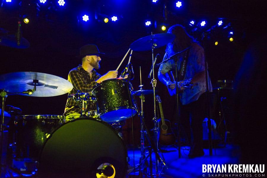The White Buffalo / Suzanne Santo @ Brooklyn Bowl, NY (3)
