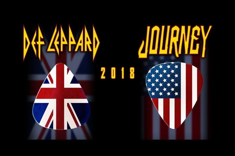 Journey and Def Leppard to play here in May
