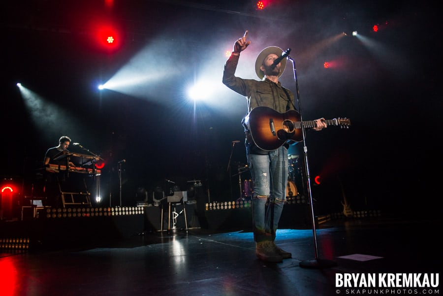Mat Kearney / Andrew Belle / Filous @ Playstation Theater, NYC (24)