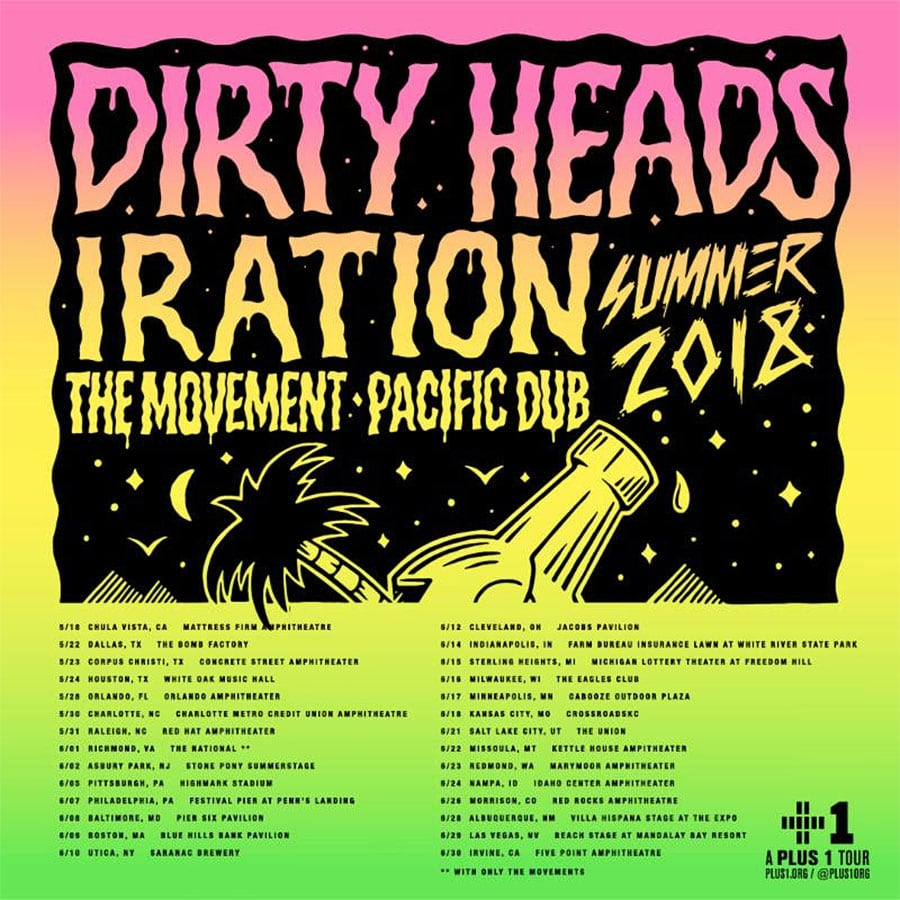 Dirty Heads Tour Schedule