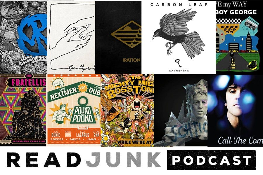 ReadJunk Podcast: Episode 09 (New Music July 2018)