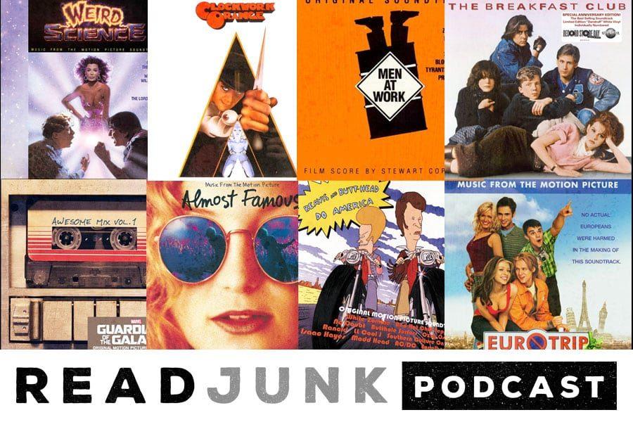 ReadJunk Podcast: Episode 08 (Movie Soundtracks Part 2)