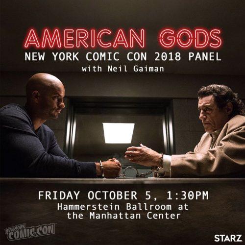American Gods at NYCC