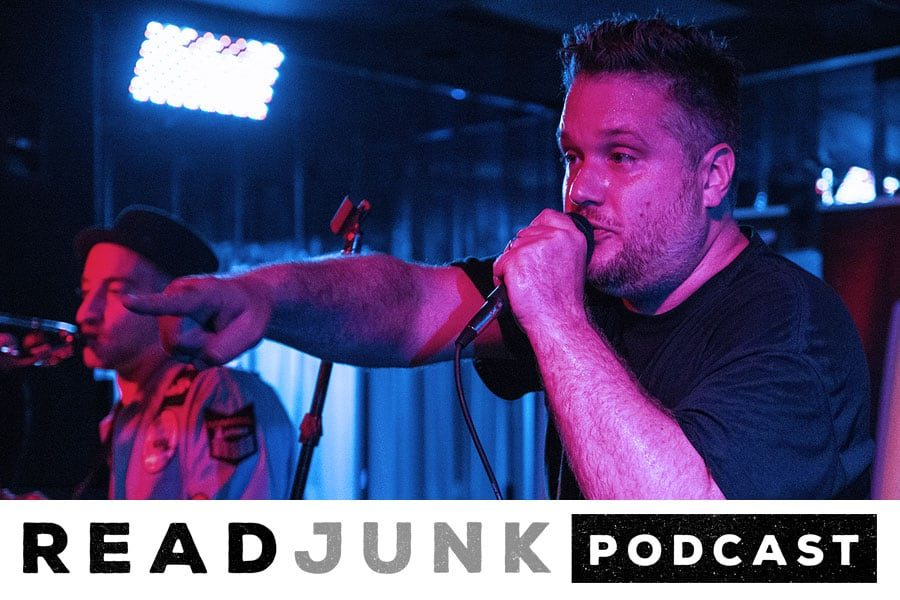 ReadJunk Podcast: Episode 17 (Steve Lonergan of Sgt. Scagnetti)