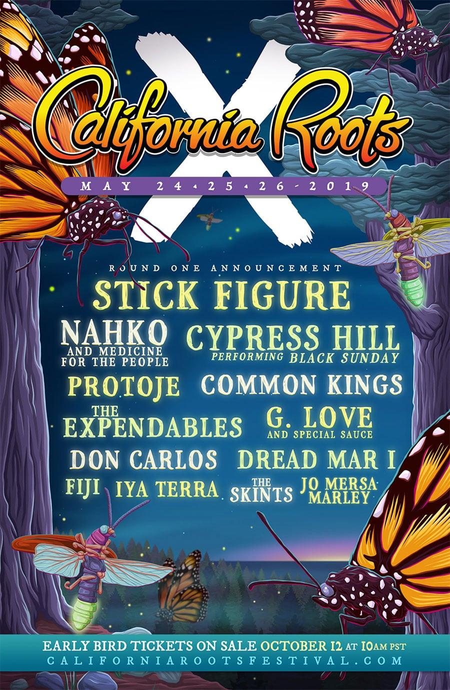 California Roots Music & Arts Festival 2019