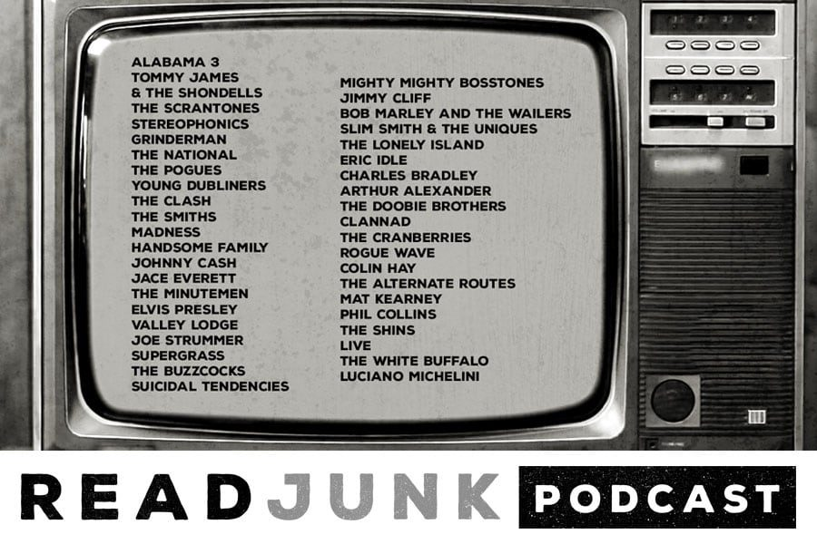 ReadJunk Podcast: Episode 24 (TV Songs & Themes Vol. 1)