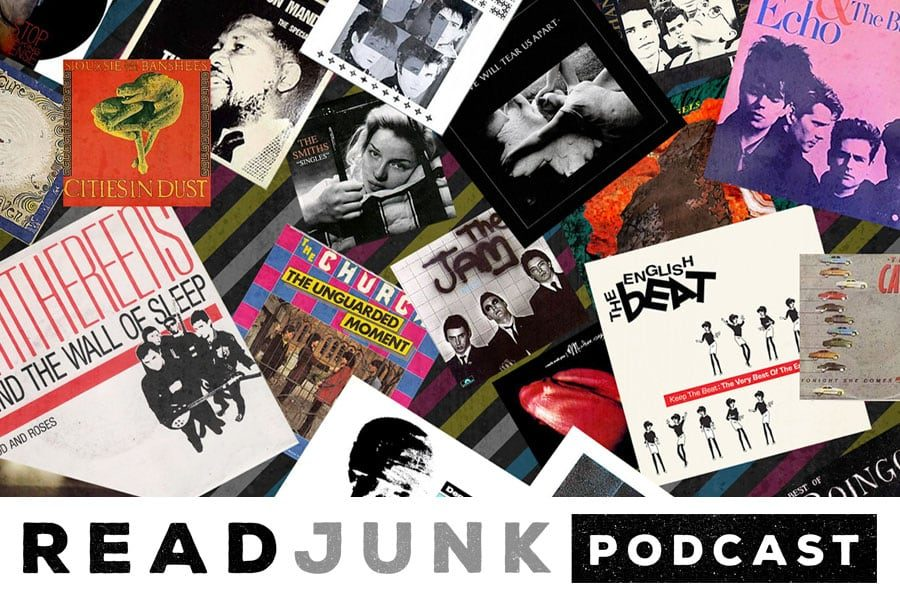 ReadJunk Podcast: Episode 25 (80s, New Wave & Post-Punk)
