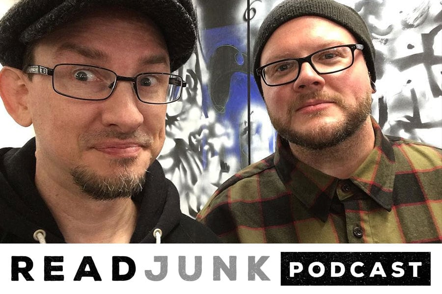 ReadJunk Podcast: Episode 26 (Hangin' Out With Frank Froese)
