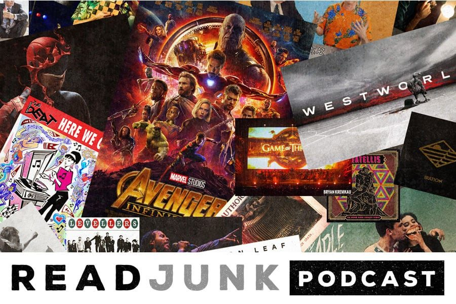 ReadJunk Podcast: Episode 32 - Year in Review 2018