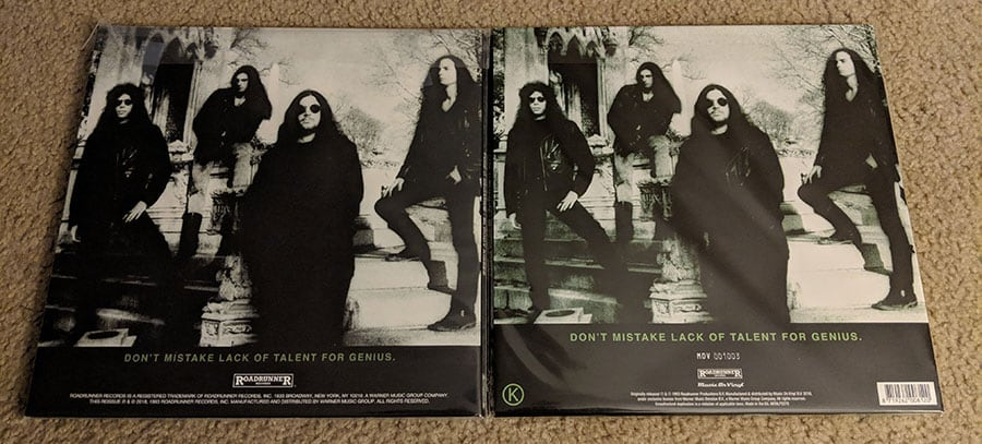 "Type O Negative - ""Bloody Kisses"" (Vinyl Re-releases)"