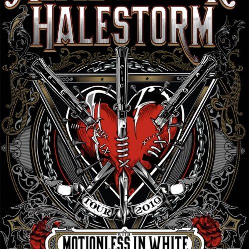 Alice Cooper / Halestorm