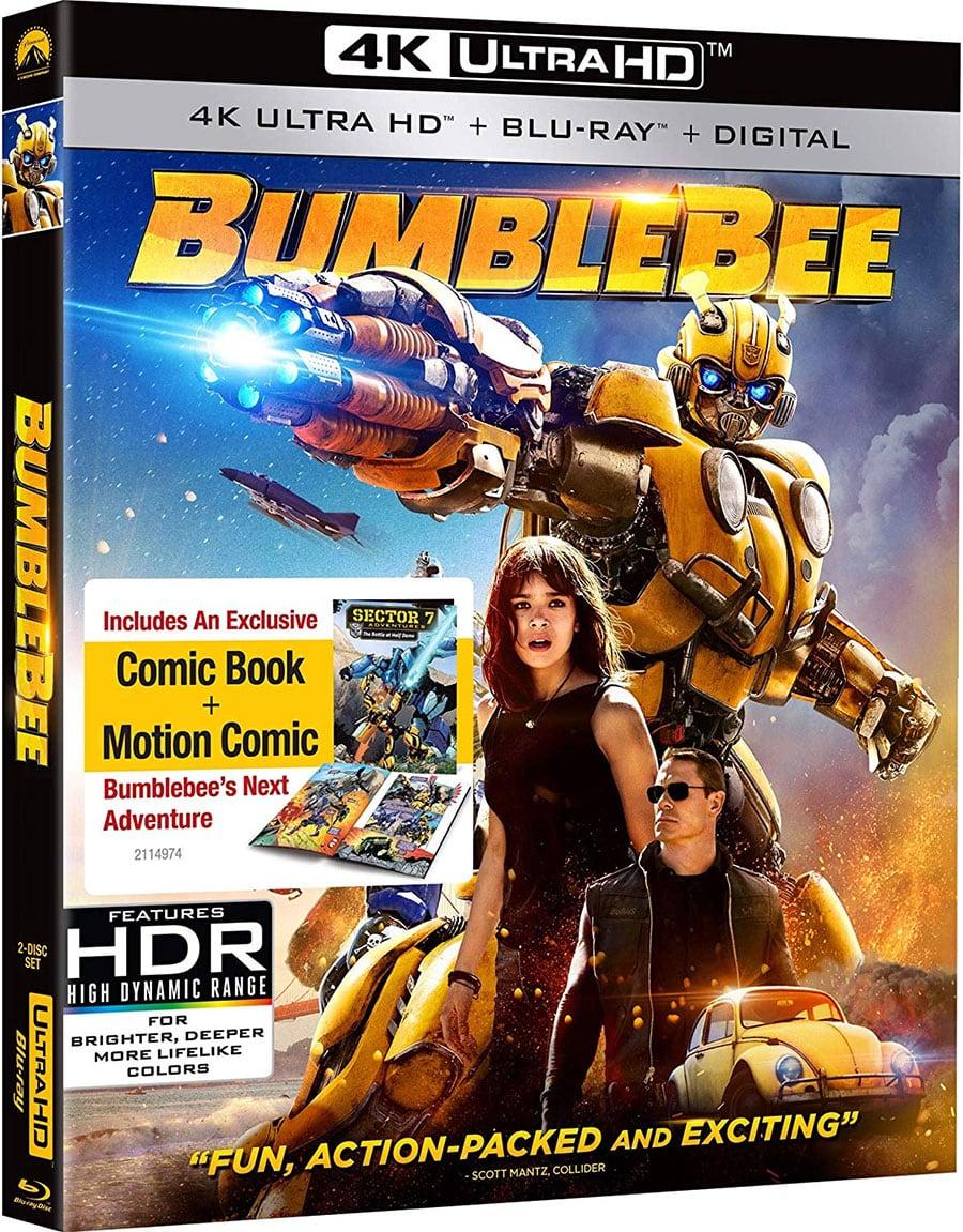 Bumblebee (4k + Blu-Ray + Digital HD)