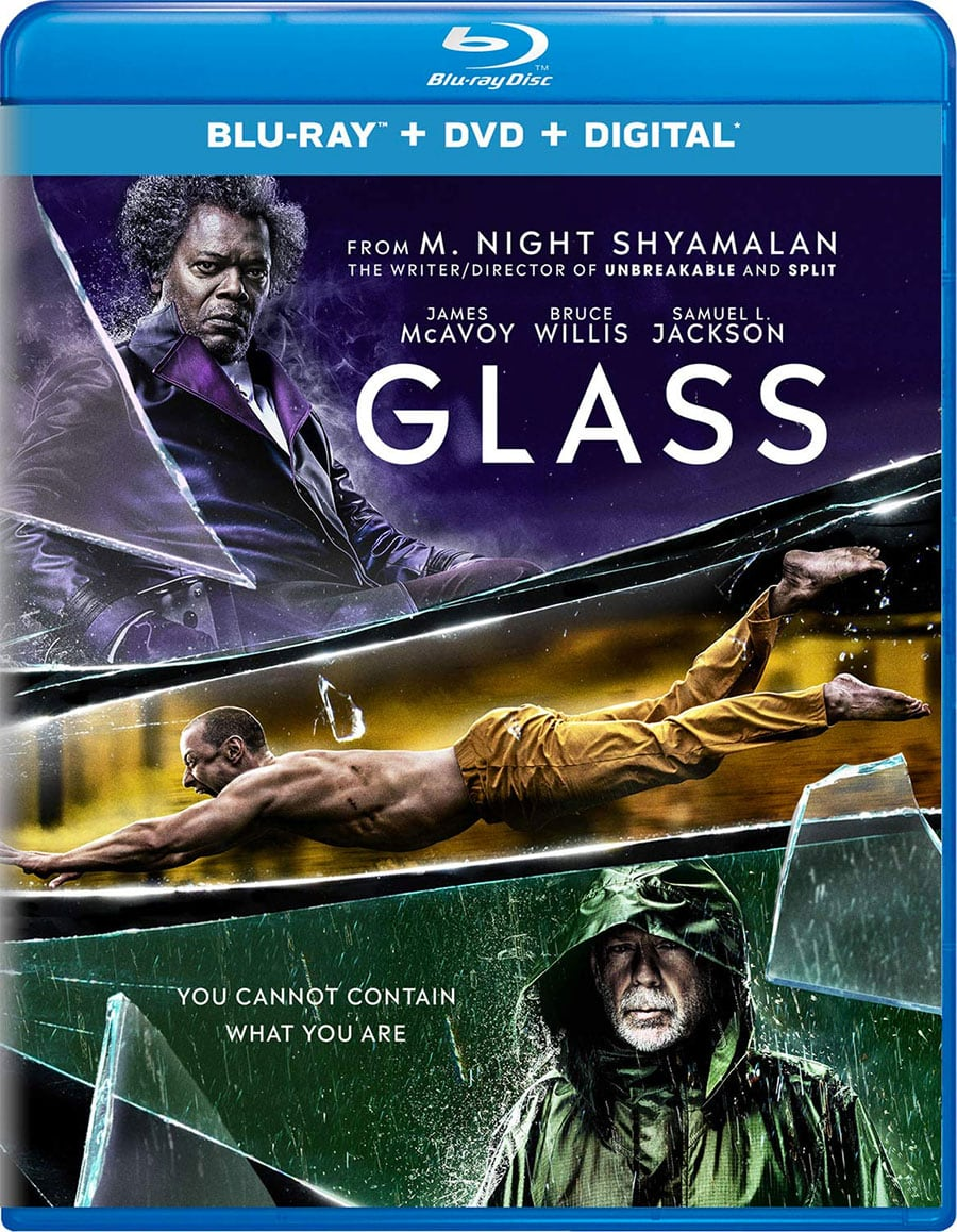 Glass (Blu-Ray + DVD + Digital HD)