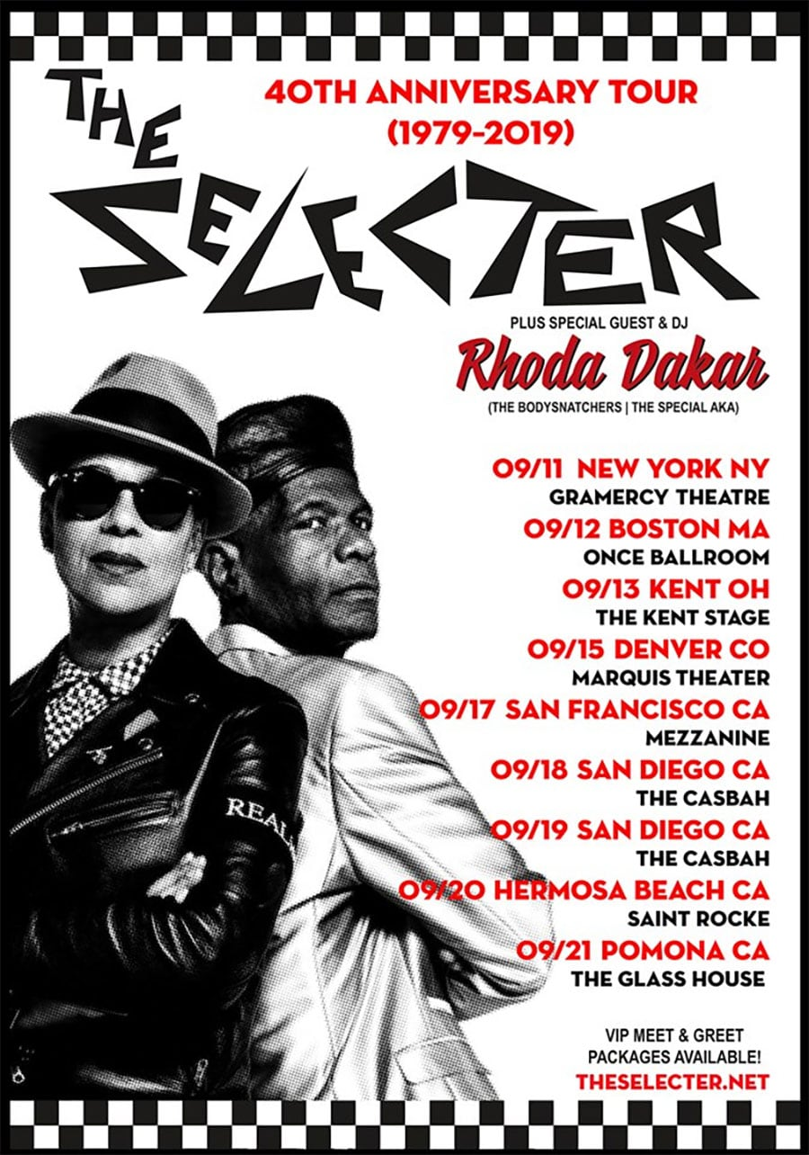 The Selecter Announce 40th Anniversary US Tour