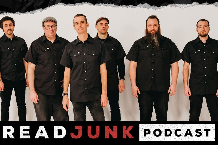 ReadJunk Podcast - Episode 38 - Matt Collyer (The Planet Smashers)