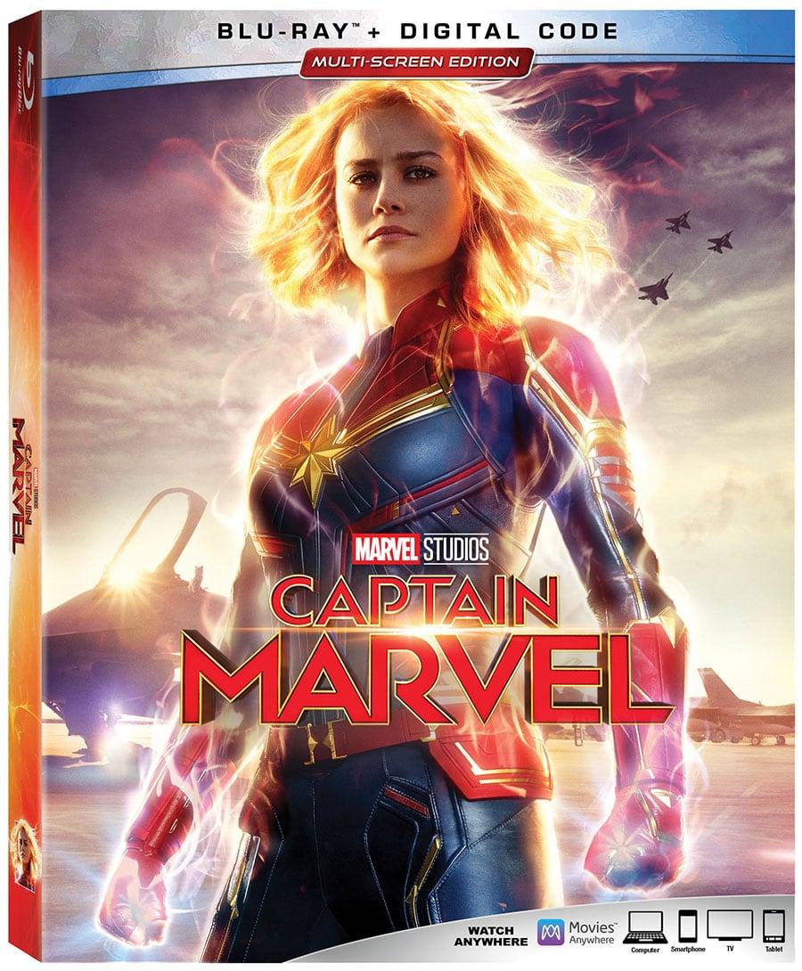 Captain Marvel (Blu-Ray + DVD + Digital HD)