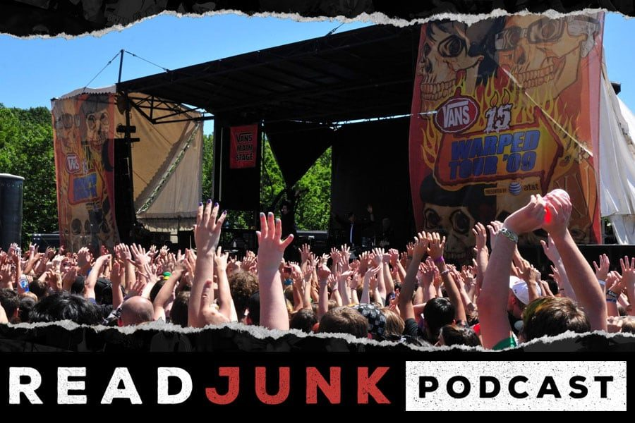ReadJunk Podcast - A Look Back at the Vans Warped Tour
