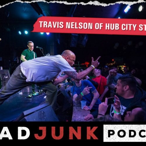 ReadJunk Podcast - Travis Nelson (Hub City Stompers)