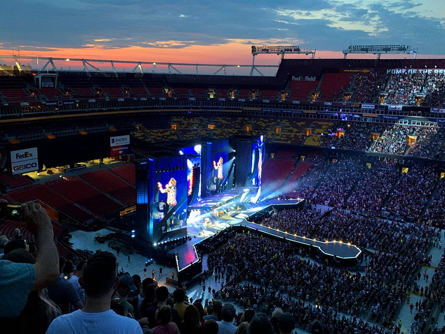 The Rolling Stones @ FedExField