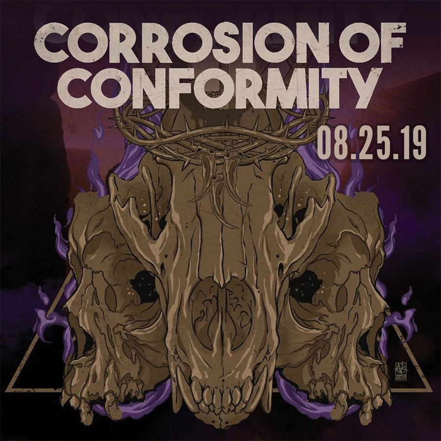 Corrosion of Conformity / Crowbar @ Fete Music Hall, Providence, RI