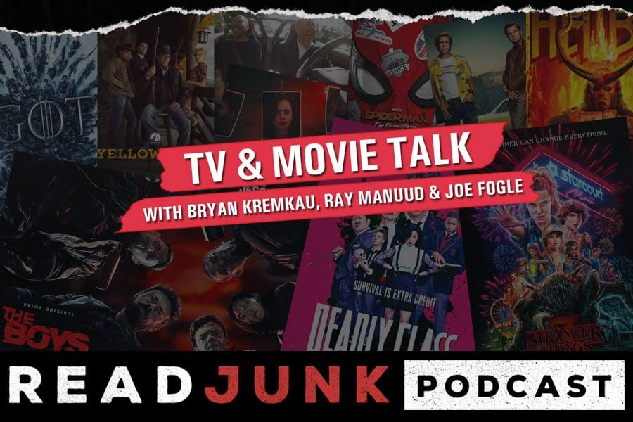 ReadJunk Podcast - TV & Movie Talk with Bryan, Ray & Joe