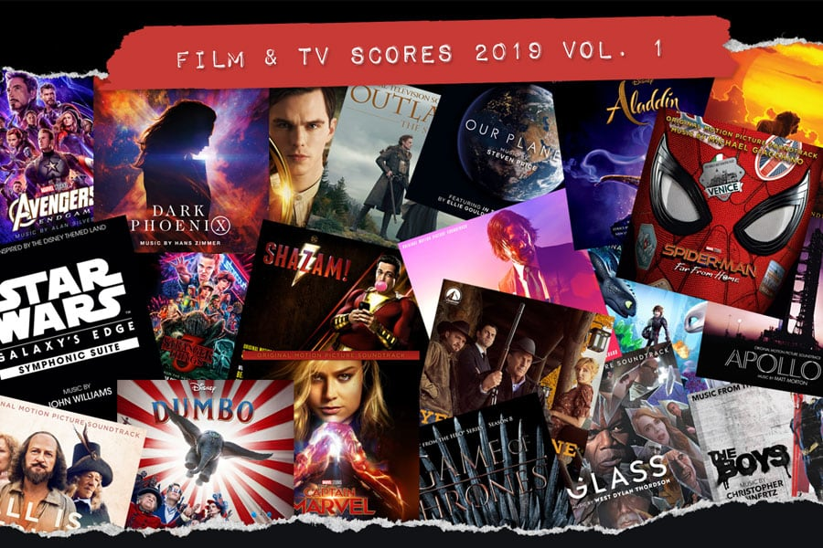 ReadJunk Playlist: Film & TV Scores 2019 Vol. 1