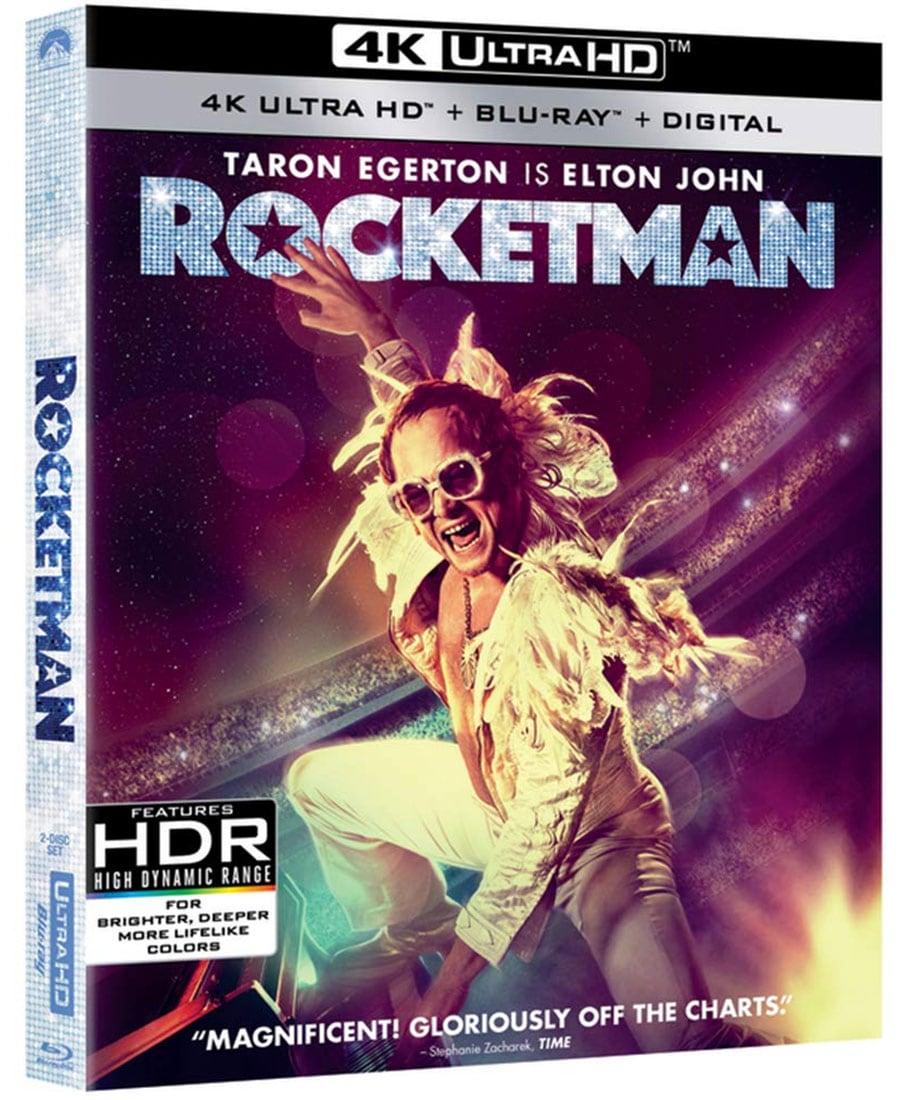 Rocketman (4k Ultra HD + Blu-Ray + Digital)