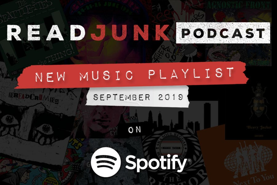 ReadJunk Playlists - New Music (September 2019)