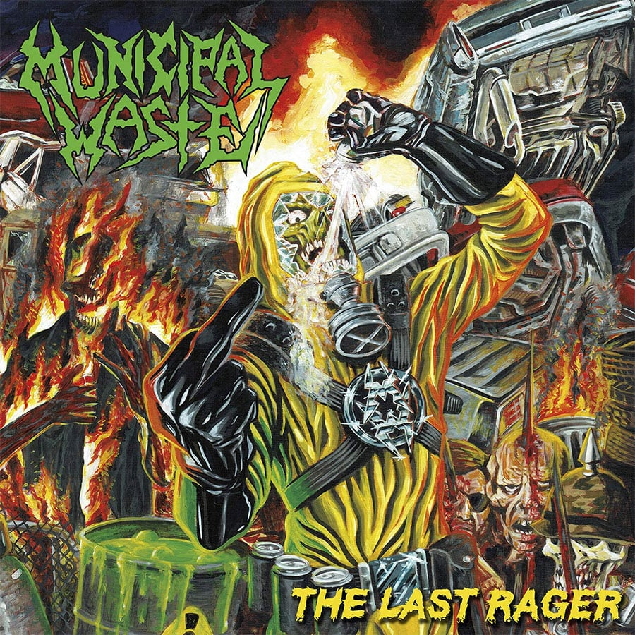 "Municipal Waste - ""The Last Rager EP"""