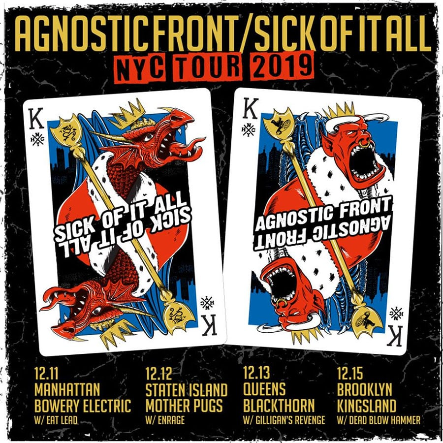 Agnostic Front and Sick of it All