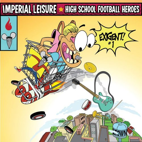 Imperial Leisure / High School Football Heroes Split 7 Inch