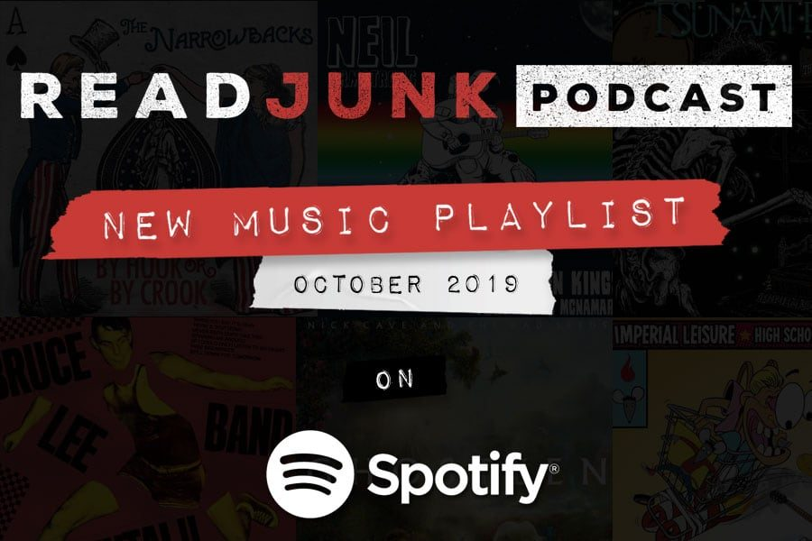 ReadJunk Playlist - New Music (October 2019)