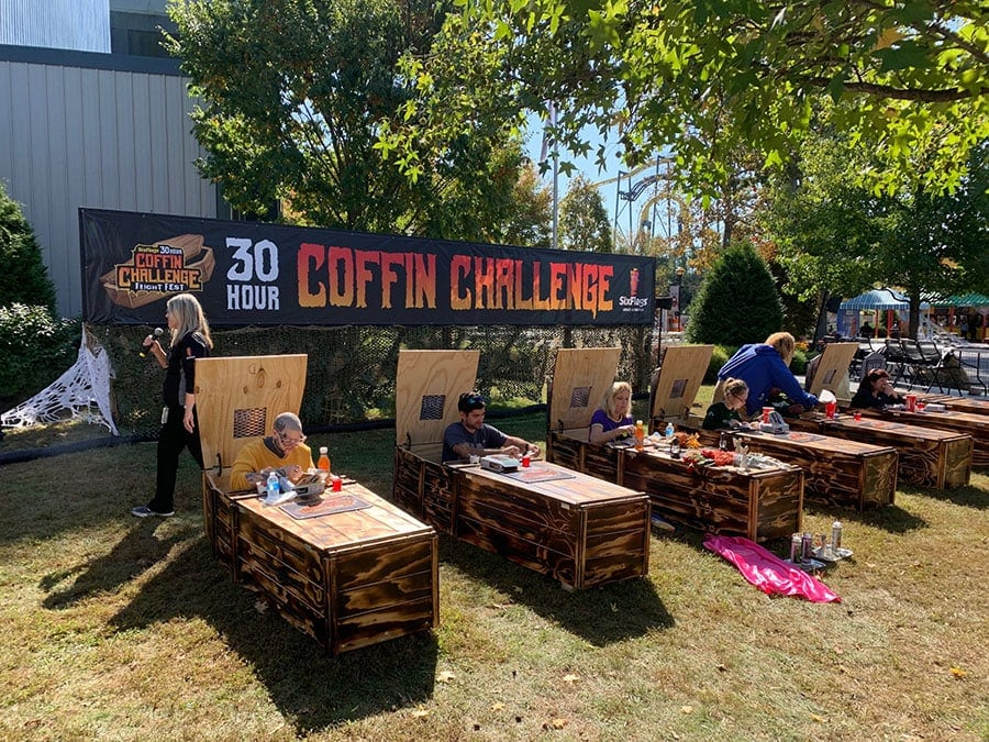 The Six Flags Coffin Challenge