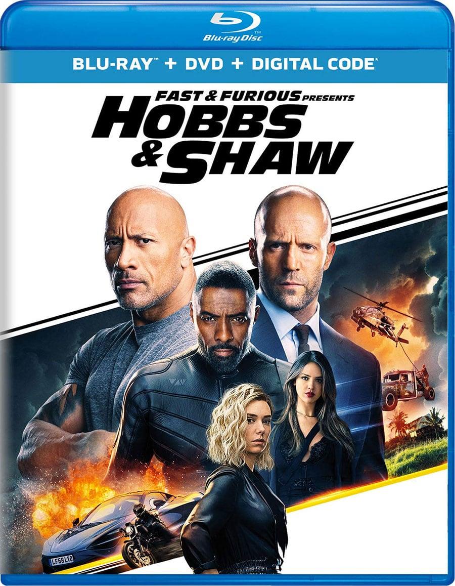 Fast & Furious Presents: Hobbs & Shaw (Blu-Ray + DVD + Digital HD)