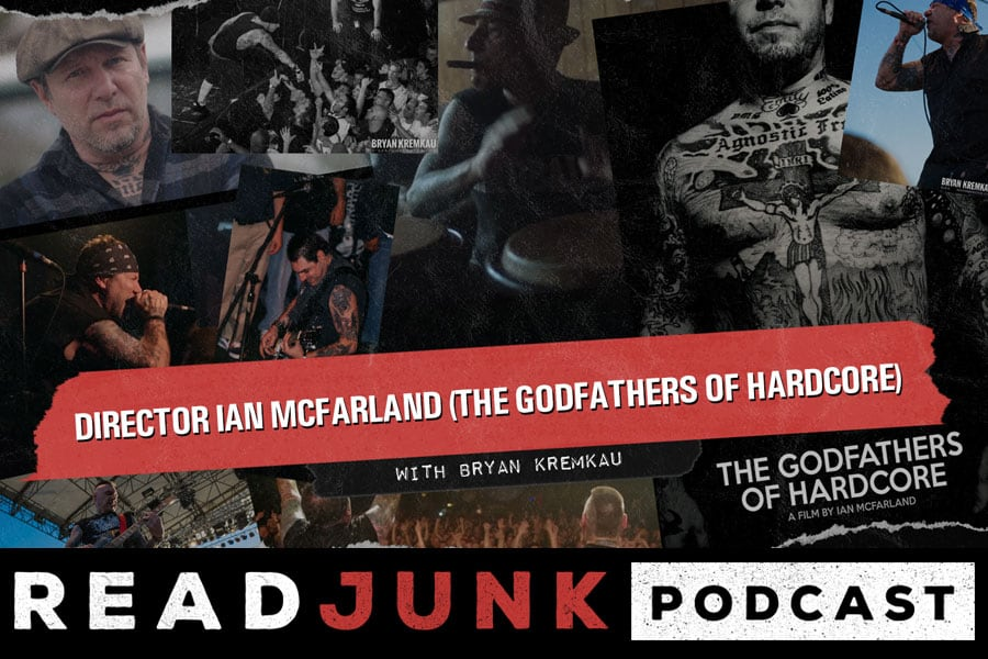 ReadJunk Podcast - Director Ian McFarland (The Godfathers of Hardcore, Blood For Blood)