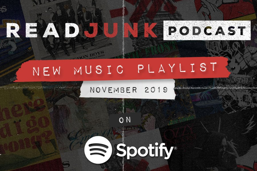 ReadJunk Playlists - New Music (November 2019)
